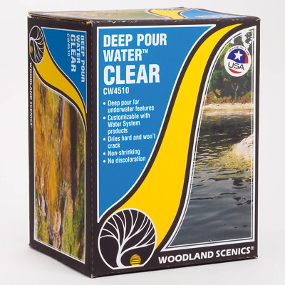 Woodland Scenics CW4510 Deep Pour Water Clear • 31.98€