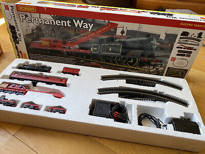 Hornby R1045 Permanent Way Steam Train Set Boxed • 133.46€