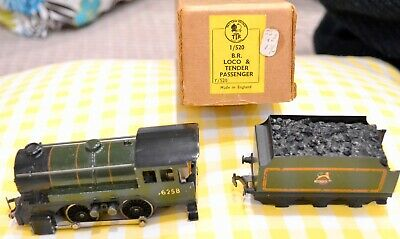 Twix Twin 1/520 Br Loco And Tender  Passenger Model Train Boxed • 11.25€