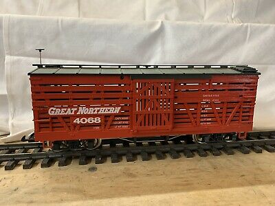 LGB 4068 Great Northern US Viehwaggon Original Lehmann Spur G • 50.51€