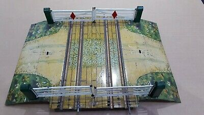 Hornby O Gauge Two Track Level Crossing Clockwork Two Rail • 63.05€