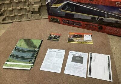 Hornby R1176 Eurostar Train Pack Box & Track Mat Includes Instructions & Tray • 20.40€