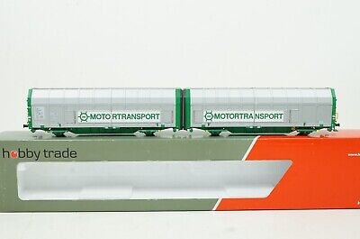 H0--HOBBYTRADE - 35022 (DC) ..GC Doppelwagen Motortransport  ..OVP  ..F4 /5 • 20.52€