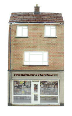 Bachmann 00 Scenecraft - Low Relief Hardware Store With Maisonette 44-256 • 24.52€