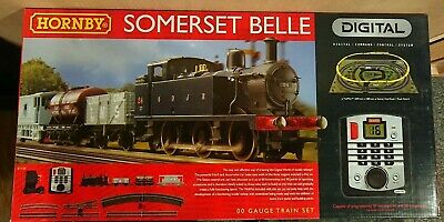 HORNBY R1125 Somerset Belle Digital Electric Train Set DCC Fitted NEW • 251.37€