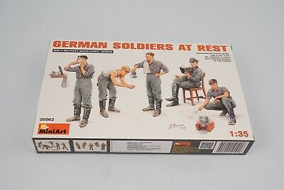 Miniart 35062 German Soldiers At Rest 1:3 5 Modélisme • 12€