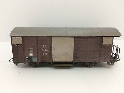 BEMO HOm Wagon Couvert  FO Gbw 4443s  Réf. 2250 203 • 30€