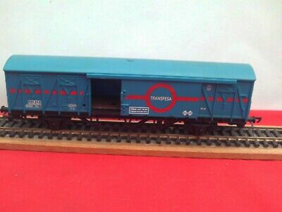 Triang Hornby R.741  Transfesa  Ferry Van With Opening Side Doors Excellent • 22.36€