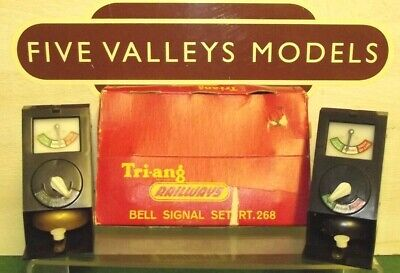 010720/06 Tri-ang RT.268 Bell Signal Set With Instructions. • 112.75€
