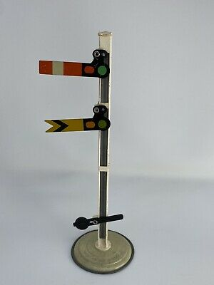 Vintage 00 Gauge Model Railway Two Aspect Signal Made In Great Britain • 1.09€