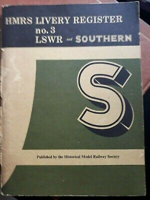 HMRS Livery Register No 3 - LSWR And Southern • 16.78€