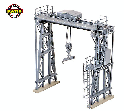 546 Ratio Traversing Crane OO Gauge Plastic Kit BRAND NEW !!!!!!!!!!!!!!!!!!!!!! • 32.60€