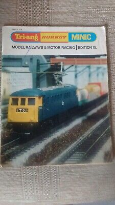 Tri-ang Hornby Minic Catalogue Edition 15 1969 • 11.08€
