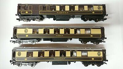 Hornby OO Gauge 3 Pullman Coaches  Ibis ,  CAR No. 93  &  Lucille  NEW/Unboxed • 44.99€