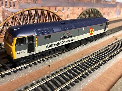"""Lima OO Class 47 DCC. 47323. BR Distribution Sub-sector Livery. """"Rover Group"""" • 45€"""