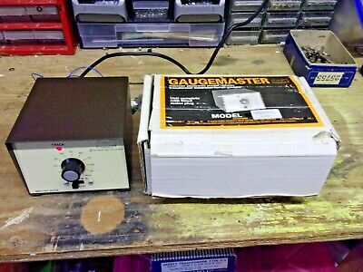 Gaugemaster Series 100MO Track Controller With Box 14v DC - Excellent Condition • 33.69€