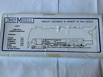 Comet LCP 1 LMS 4-6-0 Jubilee/Patriot/Royal Scot Chassis Kit  • 36.15€