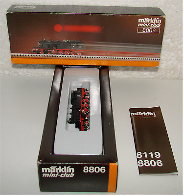 Märklin Mini-club 8806 Tenderlok BR 78 355 In OVP! • 53€