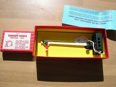 Rare Red Boxed Hornby Dublo 5065 El/op Semaphore Signal Home + Switch Mint • 89.53€