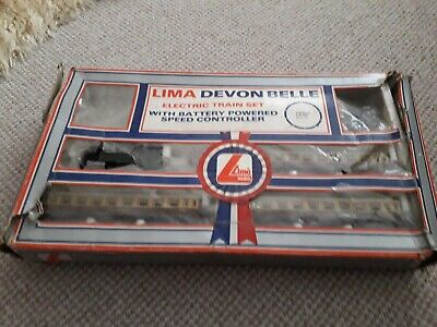 LIMA DEVON BELLE Train Set, Made In Italy Boxed • 54.34€