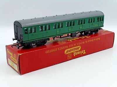 Tri-ang/Triang R223 SR Suburban Composite Coach Rare Last Issue Boxed Excellent • 1.11€