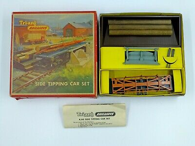 Tri-ang/Triang R345 Side Tipping Car Set Complete And Near-mint Boxed Condition • 1.11€