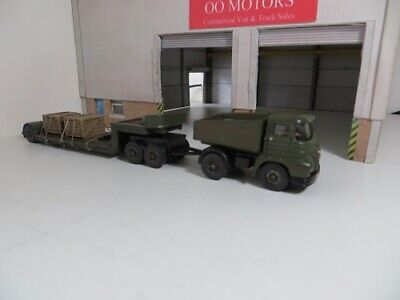 1/76 OXFORD DIECAST Code 3 Truck & Low Loader Trailer MILITARY • 31.35€