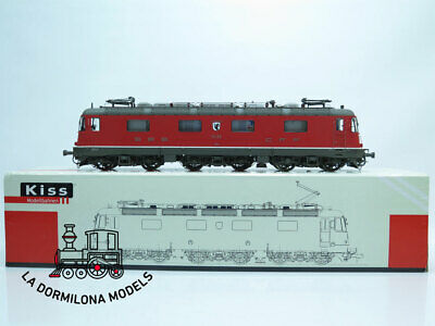 SPUR 1 KISS 510003 ELEKTROLOKOMOTIVE Re 6/6 INTERLAKEN #11629 Der SBB - OVP • 3,850€