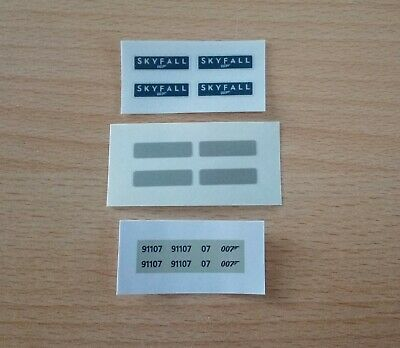 Skyfall Nameplates & Numbers Self Adhesive For OO Scale Hornby • 5.51€