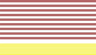 Self Adhesive Bands / Stripes For Modelling Coaches • 6.66€