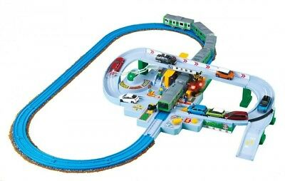 Takara Tomy Pla-Rail Let's Jouer Avec Tomica! Railroad Crossing Set • 122.16€