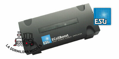 ESU 50012 ECoSBoost Ext. Booster, 7A, MM/DCC/SX/M4, Set With Power Supply 120-24 • 240€