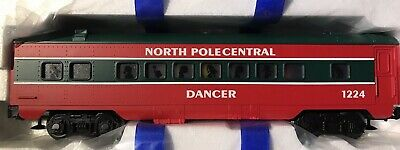 Lionel Spur O NORTH POLE CENTRAL COACH CAR 6-25183 Personenwagen Aus Set 6-30039 • 49.95€