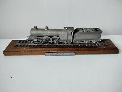 Rare Danbury Mint Fine Pewter Replica Locomotive Model Ivatt Atlantic 1902 • 28.11€