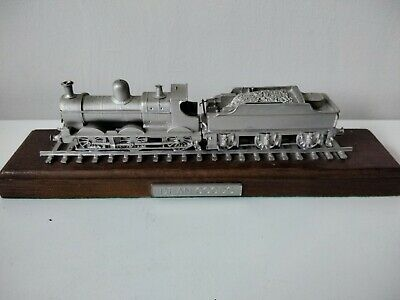 Rare Danbury Mint Fine Pewter Replica Locomotive Dean Goods 1897 • 28.11€