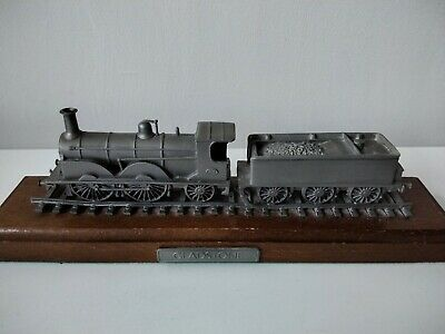 Rare Danbury Mint Fine Pewter Replica Locomotive Gladstone 1882 • 28.11€