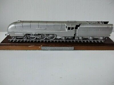 Rare Danbury Mint Fine Pewter Replica Locomotive Duchess Of Hamilton 1938 • 28.11€