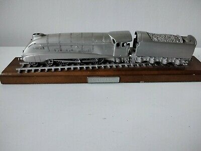 Rare Danbury Mint Fine Pewter Replica Locomotive Mallard 1938 • 28.11€