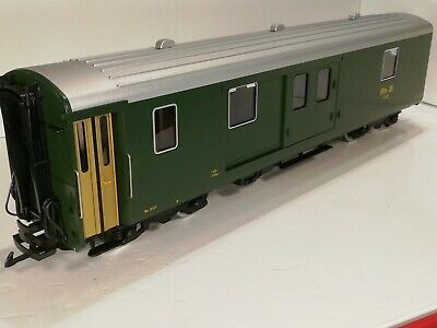LGB 33690 G SCALE RHB BAGGAGE CAR COACH D 4218 Green Livery Excellent Boxed. • 150.78€
