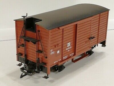 LGB 46354 'G' Scale  DR BROWN LIVERY GOODS WAGON With Drag Seat. Excellent Boxed • 89.79€
