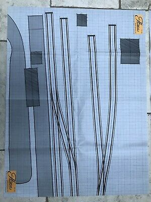 Hattons Models OO Gauge Paper Track Plan Layout X2 • 1.11€