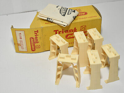 Triang Tt Boxed T110 6 High Level Piers Excellent • 11.85€