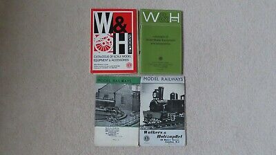 A Collection Of Walkers & Holtzapffel And W & H Model Railway Catalogues • 7.82€