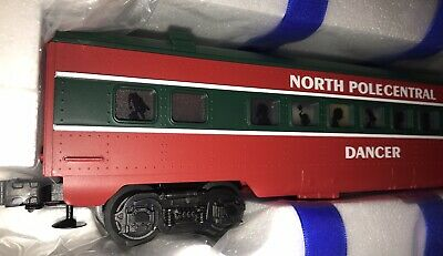 Lionel Spur O NORTH POLE CENTRAL COACH CAR 6-25183 Personenwagen Aus Set 6-30039 • 59.95€