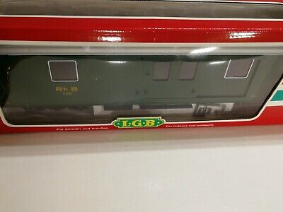 LGB 33690 G SCALE RHB BAGGAGE CAR COACH D 4218 Green Livery Excellent Boxed. • 143.41€