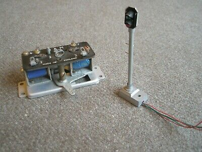 H&m Point Motor And Colour Light Signal - Oo Gauge - Tested • 5.72€