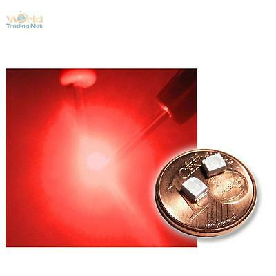 10 Rote SMD LEDs PLCC2 / 3528 Tief Rot Red Rouge Rojo Rosso Rood SMDs Led PLCC-2 • 2.29€