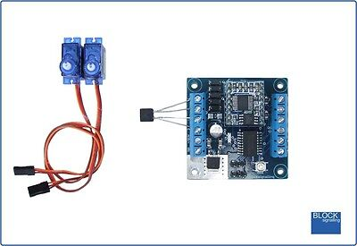 BLOCKsignalling LCS5 Level Crossing Controller For Servo Barriers Gates & LEDs • 45.19€