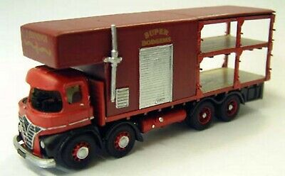 Foden S21 D/deck Fairground Lorry G105 UNPAINTED OO Scale Langley Models Kit • 67.28€