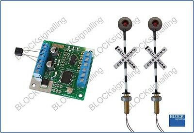 BLOCKsignalling Level Crossing Module With Led Lights PN • 25.98€
